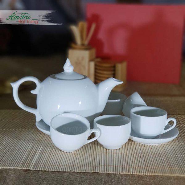Bộ ấm trà bưởi lửa