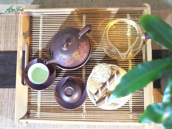 Ấm trà gốm sứ dành cho nhà hàng, quán cà phê, trà đạo