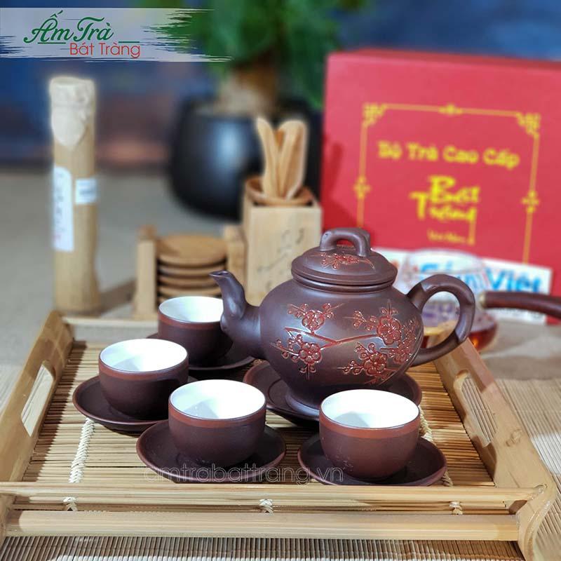 Ấm trà tử sa tại Xưởng gốm Việt