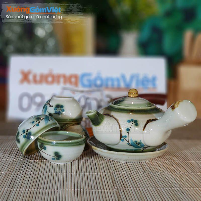 Bộ trà Bát Tràng cao cấp