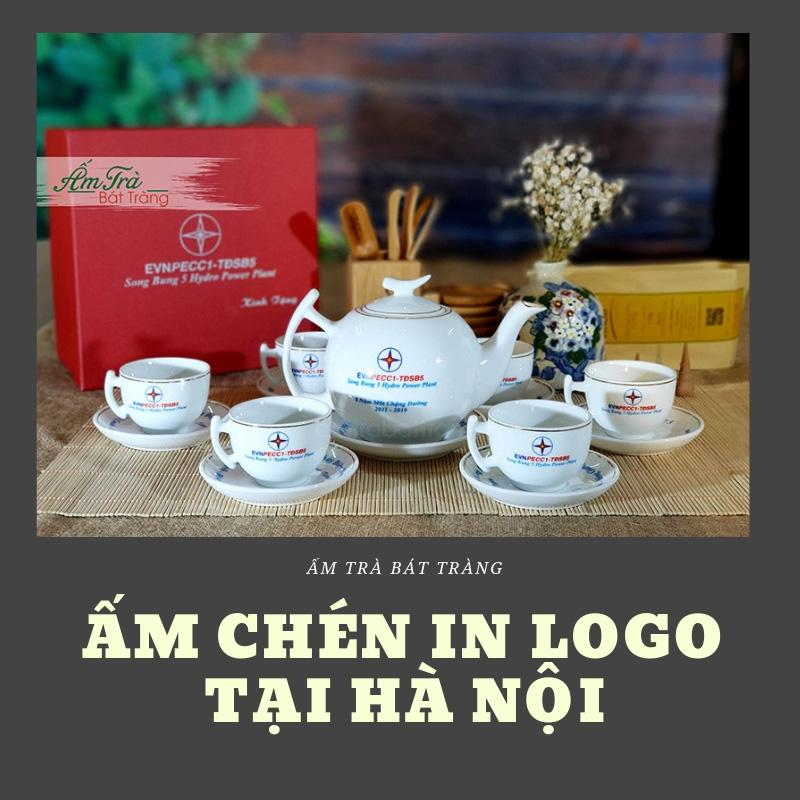 ấm trà in logo tại Hà Nội