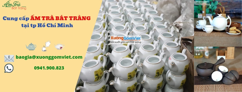 cung cấp ấm trà tại HCM