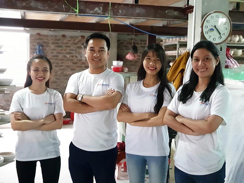đội ngũ nhân viên kinh doanh