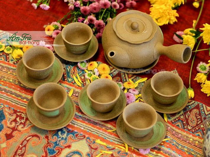 Ấm trà Hồng Sa tại Hà Nội