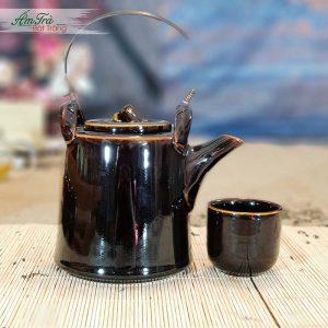 Bộ trà cao cấp men cánh gián