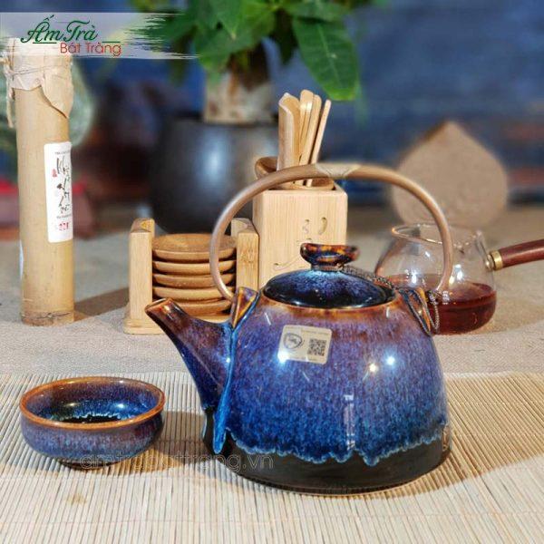 Bộ trà men hỏa biến