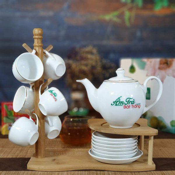 Bộ trà trắng dml AT-07